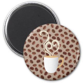 Café Magnet Rond 8 Cm