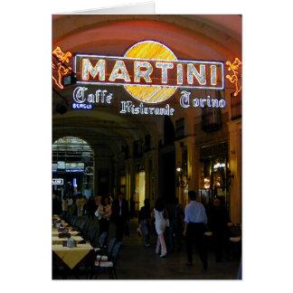 Café Martini Cartes