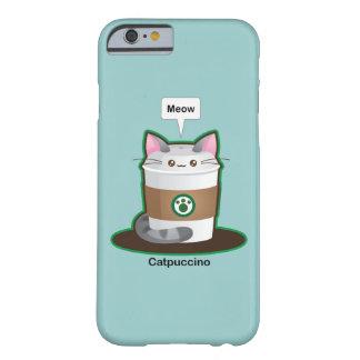 Café mignon de chat coque iPhone 6 barely there