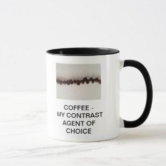 CAFÉ - MON AGENT DE CONTRASTE DE CHOIX MUG