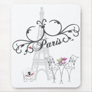 Café Mousepad de Paris Tapis De Souris