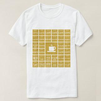 Café - Multilinguals T-shirt