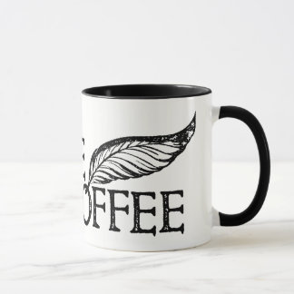 Café ou pas timbre de Shakespeare de café Tasse