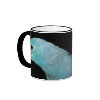 Café Pacifique bleu de tasse de sonnerie de Parrot