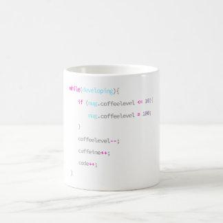 Café pour coder - la tasse du programmeur