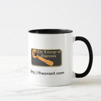 Café pour les saints mug