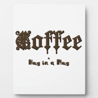 Café - une étreinte dans une tasse    gothique plaque photo