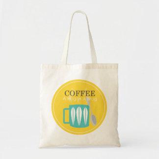 Café - une étreinte dans une tasse sac