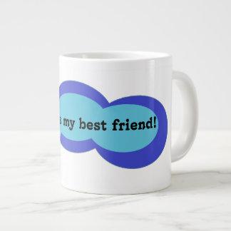 Caféine maintenant, caféine pour toujours grande tasse