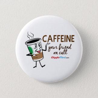 Caféine, votre ami à l'appel badges