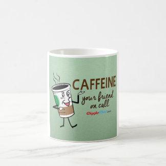 Caféine, votre ami à l'appel mug