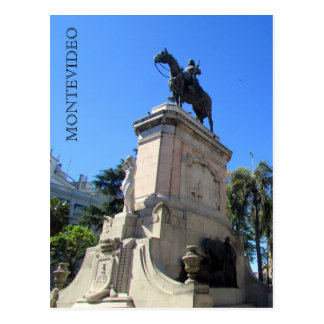cagancha Montevideo de plaza Carte Postale