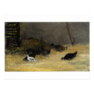 Cage de poulet par Paul Gauguin Cartes Postales