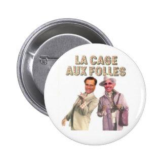 Cage Folles aux. Buton de La de Giuliani Romney Badges