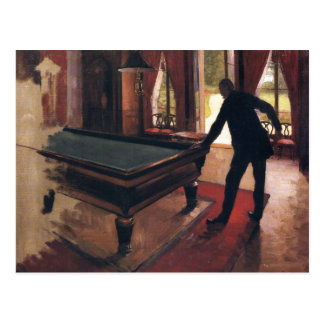 Caillebotte : Billards Carte Postale