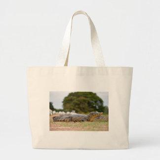 caiman de yacare sacs de toile