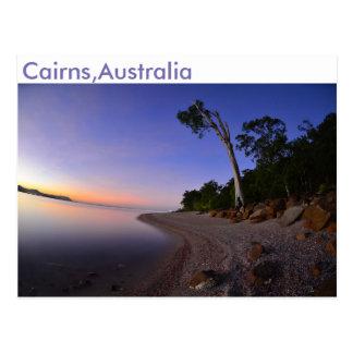 Cairns, Australie, carte postale