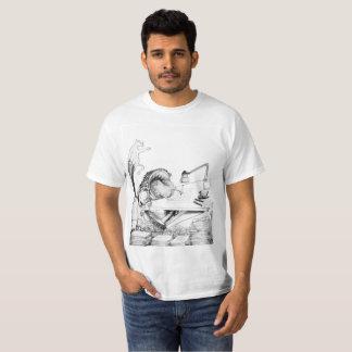 Caisa Limbe dans des requadros T-shirt
