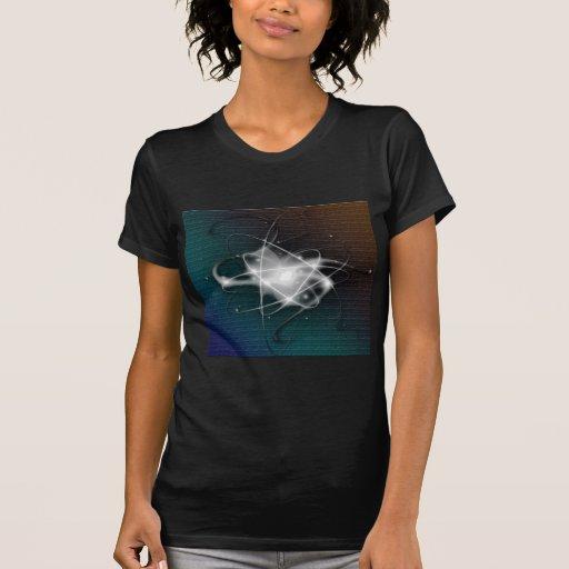 Caisse abstraite de courbe de mûre t-shirts
