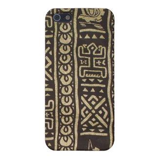Caisse africaine de point d'art coque iPhone 5