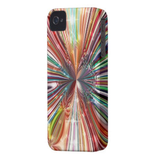Caisse audacieuse `` Cristall rouge Flower´´ de Coque Case-Mate iPhone 4