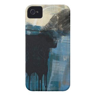 caisse audacieuse de mûre abstraite coque iPhone 4 Case-Mate