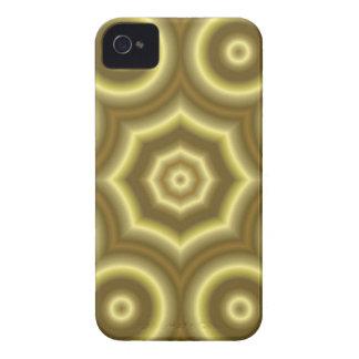 Caisse audacieuse de mûre abstraite de motif coque Case-Mate iPhone 4