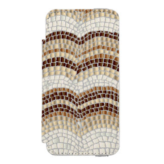 Caisse beige de portefeuille de l'iPhone SE/5/5s Coque-portefeuille iPhone 5 Incipio Watson™