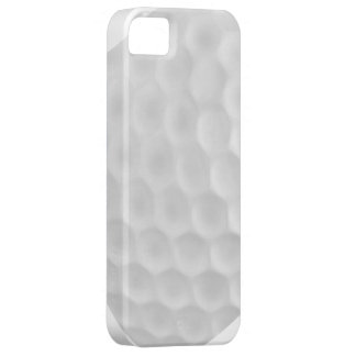 Caisse blanche bleue d'Iphone 5 de boule de golf