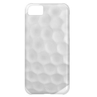 Caisse blanche bleue d'Iphone 5 de boule de golf Coque Pour iPhone 5C