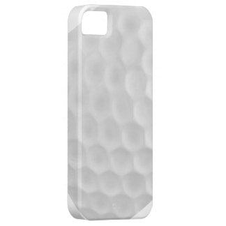 Caisse blanche bleue d'Iphone 5 de boule de golf Coques iPhone 5 Case-Mate