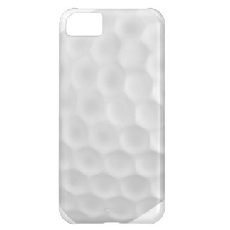 Caisse blanche d'Iphone 5 de boule de golf