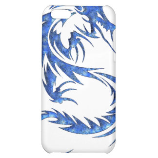 Caisse bleue d iPod de dragon