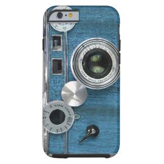 Caisse bleue de l'iPhone 6 d'appareil-photo Coque iPhone 6 Tough