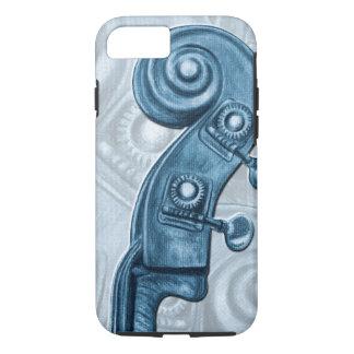 Caisse bleue de l'iPhone 7 de rouleau de poupée Coque iPhone 7