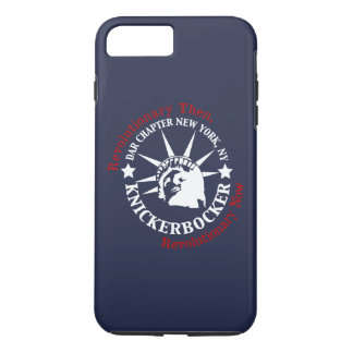 Caisse bleue de portable de Knickerbocker Coque iPhone 8 Plus/7 Plus