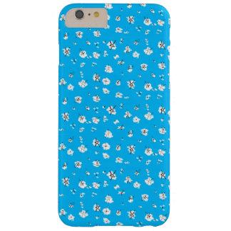 Caisse bleue de téléphone d'étoiles de griffonnage coque iPhone 6 plus barely there