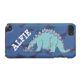 Caisse bleue d'iPod de stegosaurus d'enfants Coque iPod Touch 5G