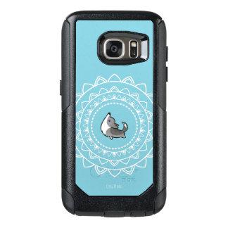 Caisse bleue d'Otterbox de corgi de Namaste Merle Coque OtterBox Samsung Galaxy S7