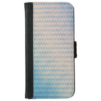 Caisse bleue et rose de téléphone de portefeuille