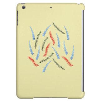 Caisse brillante d'air d'iPad de branches