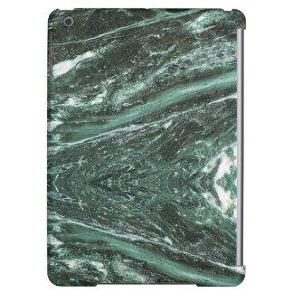 Caisse brillante d'air d'iPad de texture en pierre