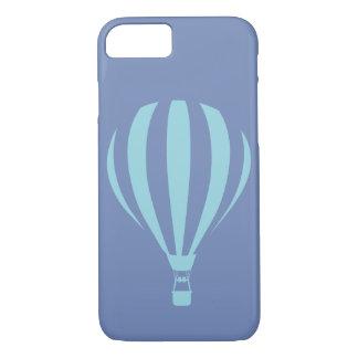 Caisse chaude bleue de l'iPhone 7 de ballon à air Coque iPhone 7