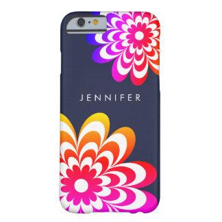 Caisse colorée de l'iPhone 6/6S de marguerite - Coque Barely There iPhone 6