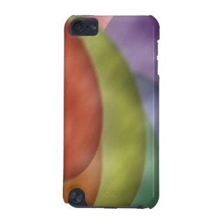 Caisse colorée de point de contact d iPod de sphèr