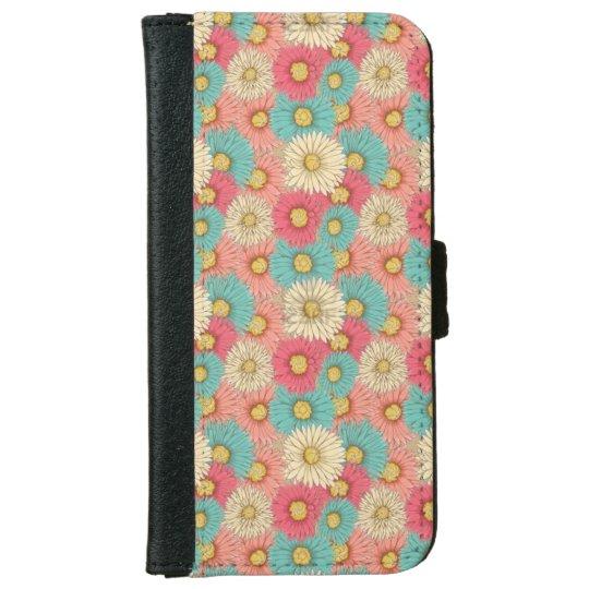 Caisse colorée de portefeuille d'Iphone 6/6s de Coque Avec Portefeuille Pour iPhone 6