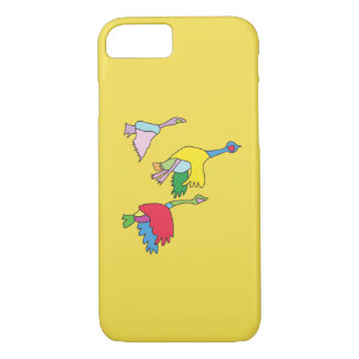 Caisse colorée de téléphone d'oies du Canada Coque iPhone 7