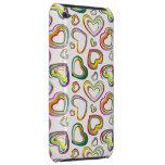 Caisse colorée géniale de contact d'iPod de coeurs Coques iPod Touch