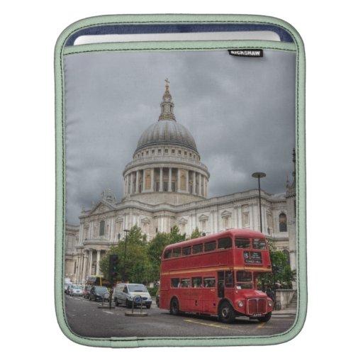 Caisse d'air de livre de Mac de Londres Housses iPad