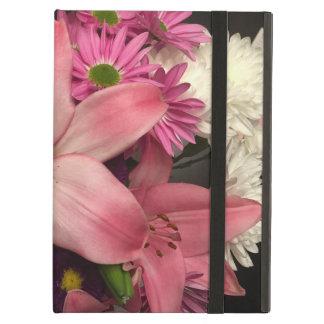 Caisse d'air d'iPad de bouquet floral
